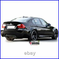 Pare Chocs Arriere Sport Look Pack M3 Doubles Sorties Centrales Bmw Serie 3 E90