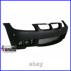Pare Chocs Avant Sport Look Pack M3 Bmw Serie 3 E90 E91 Phases 1 Avec Pdc 04928