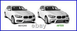 Pare choc avant BMW serie 1 F20 F21 LCI 15-18 Look Sport ABS PDC