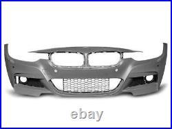 Pare choc avant BMW serie 3 F30/F31 2011-2018 look Sport PDC