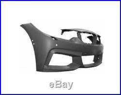 Pare-chocs Avant Bmw Série 4 M-sport Dès 2013 A/lave Ph. A/pdc A/pa A/trous Cam