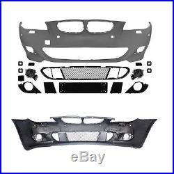 Parechoc Pare Choc Avant Abs Sport Design Pack M Bmw Serie 5 E60 E61 Avec Pdc