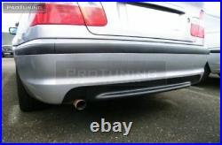 Pour BMW 3 Série E46 Berline Arrière M Sport 2 II Pare-Choc ABS Neuf Avec Pdc