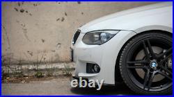 Pour BMW 3 Série E92 E93 LCI Avant Sport Pare-Choc M Carbone Spoiler Bague