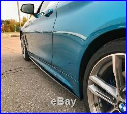Pour BMW 4 Série F36 F32 F33 ABS Brillant Lames Modules pour M Sport Côté Jupe