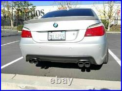Pour BMW 5 Série E60 E61 Arrière Sport Pare-Choc M Jupe Quad Échappement