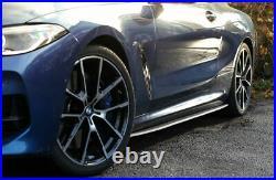Pour BMW 8 Série G14 G15 M Sport Carbone Côté Jupe Modules Performance Lames