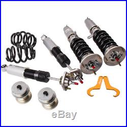 Racing Coilover Struts For BMW E46 3 Series Adj Damper & Camber plates Kit