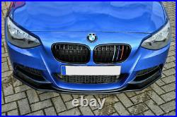 Séparateur de pare-chocs avant pour BMW Série 1 F20 F21 M Sport 11-15