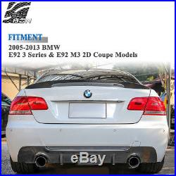 Spoiler Aileron Becquet 100% Carbone Fibre Pour BMW E92 M3 Série 3 Style M Sport