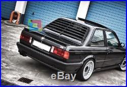 Spoiler M Sports Look On The Rear Window Bmw Serie 3 E30 1982-1992 Fr