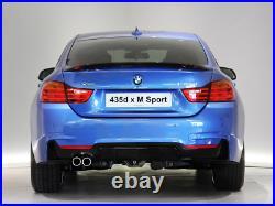 Sport Spoiler Aileron Becquet de carbone pour BMW F36 serie 4 Gran Coupe