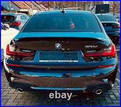 Sport Spoiler Aileron Becquet peint pour BMW serie 3 G20 noir Saphirschwarz