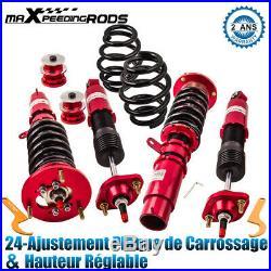 Suspension Combinés Filetés Amortisseurs Réglable pour BMW E46 3 Series M3 320Ci