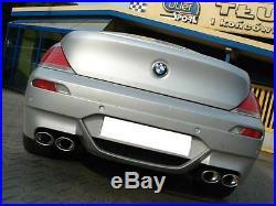 Ulter Échappement Duplex Sport Silencieux BMW Série 6 E63 E64 650i 645ci 4rohr