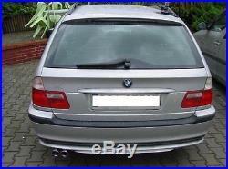 Ulter Échappement Sport BMW 3 Série E46 Touring Lim. Coupé Année Fab. 98-05 318d