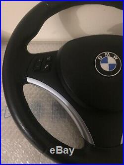 VOLANT Complet Dorigine BMW serie 1 et 3 E87 E81 E90 E91 E92 E93 SPORT CUIR
