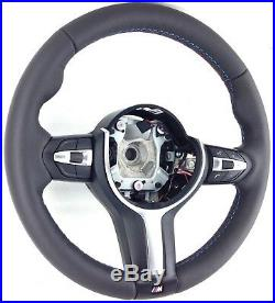Véritable BMW 1 2 3 4 Série M Sport Tri-Stitch Nappa Cuir Direction Roue 2B