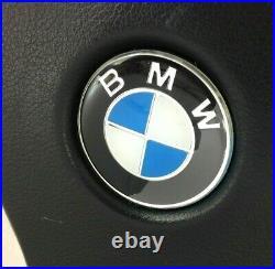 Véritable MOMO 380mm Cuir Noir Direction Roue BMW E36 E30 E21 E24 E34 Etc 7D