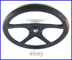 Véritable MOMO Alpina 380mm Cuir Direction Roue BMW E36 E30 B6 B3 B8 B12. 7D