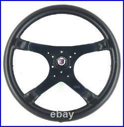 Véritable MOMO Alpina 380mm Cuir Direction Roue BMW E36 E31 B6 B3 B8 B12. 7C