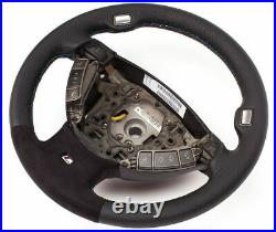 Volant Alcantara en cuir BMW Série 7 E65, E66 Sport M volant multifonction 2n