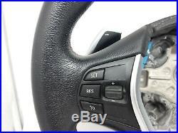 Volant BMW F20 F21 F30 F31 F34 Série 1 3 4 cuir noir multifonction sport palette