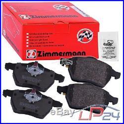 Zimmermann Sport Disques Coat Z + Plaquettes Frein Avant Bmw Serie 5 E39 00-04