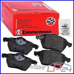 Zimmermann Sport Disques Coat Z+plaquettes De Frein Arrière Bmw Série 3 E92