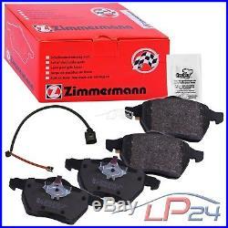Zimmermann Sport Disques + Plaquettes De Frein Bmw Serie 3 E46 330