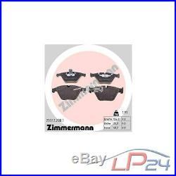 Zimmermann Sport Disques Ventilés Ø324 Coat Z+plaquettes Avant Bmw Série 5 E60