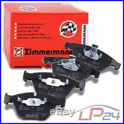 Zimmermann Sport Disques Ventilés Ø324 Coat Z+plaquettes Avant Bmw Série 5 E61